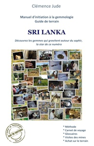 Livre gemmologie guide de terrain Sri Lanka