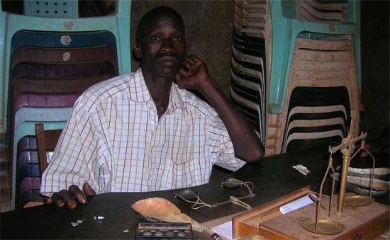 Négociant à Mandiana Guinée