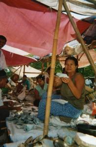 Marche au jade Mandalay Birmanie