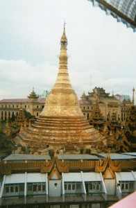 Sule Pagoda Yangon Birmanie Myanmar