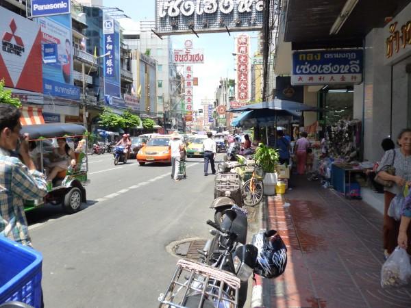 Commerces à Chinatown, Bangkok