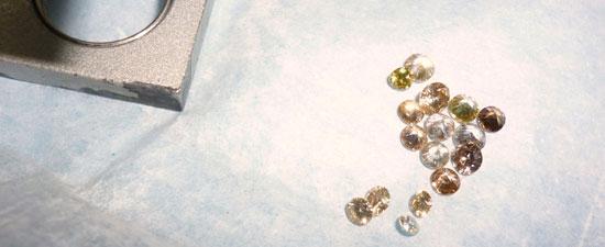 Diamants lapidairerie Bornéo