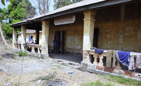 Friguiagbe ancienne gare Guinée