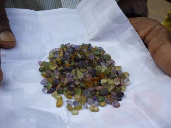 Lot de pierres Sri Lanka