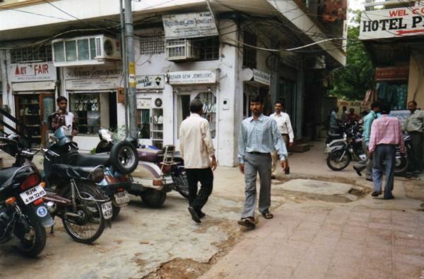 Marché aux pierres Jaipur, Inde
