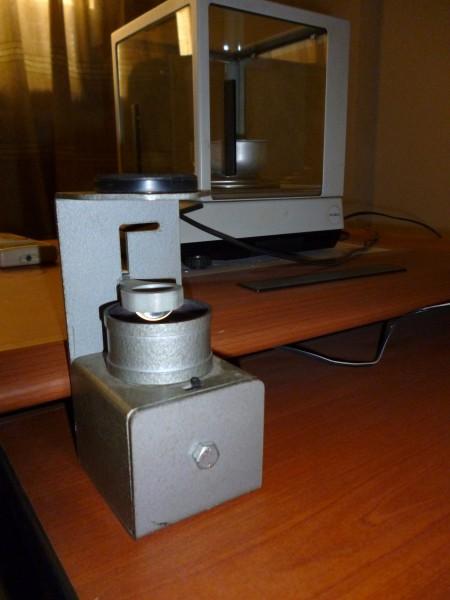 Polariscope russe chez diamantaire, Guinée
