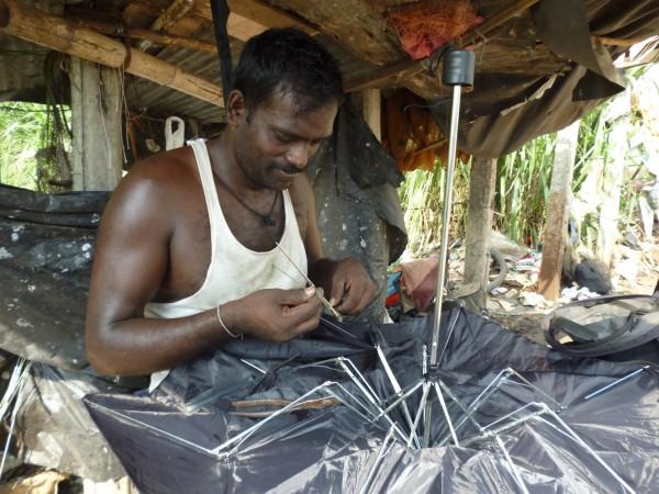 Réparateur de parapluie, Sri Lanka